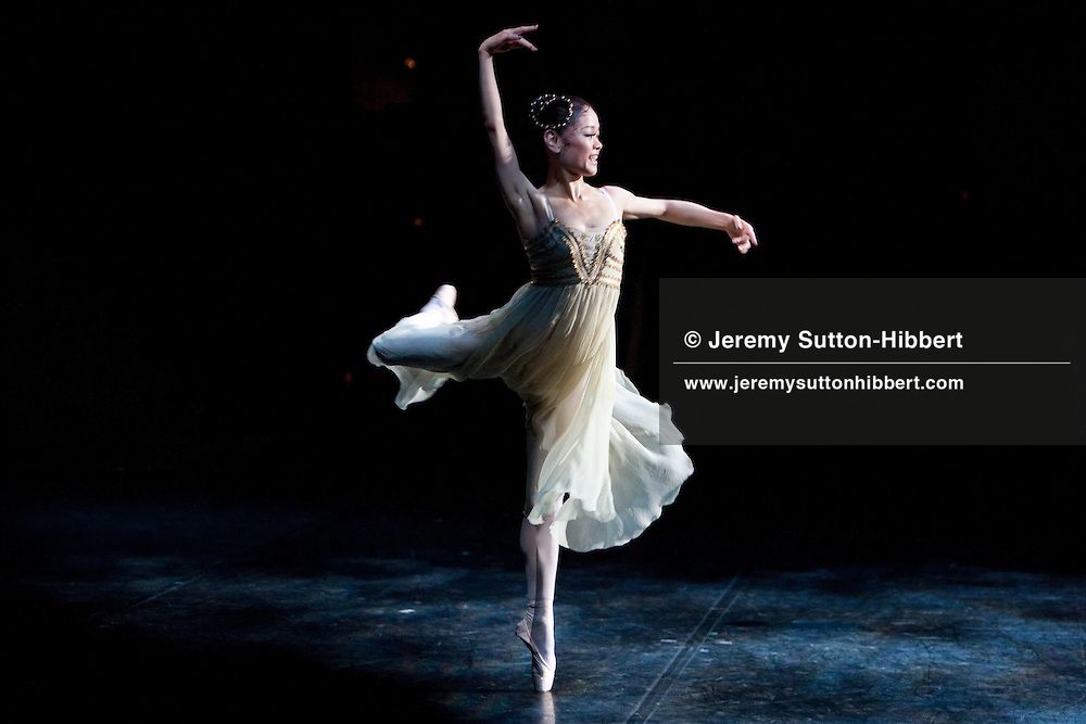 Miyako Yoshida performing as principle dancer in the Royal Ballet's (2010 Summer tour to Japan) 'Romeo And Juliet', bringing to an end her 25 year history as a dancer with the Royal Ballet. Her last dance and performance took place in front of a Tokyo audience at the Bunka Kaikan hall, Tokyo, Japan, Tuesday 29th June 2010.