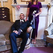11/11/11 Elkton MD: Wedding portrait of William M. Stevens and Susan M Stevens of New Castle Delaware Friday, Nov. 11, 2011 at Elkton Wedding Chapel in Elkton Maryland.<br /> <br /> Special to The News Journal/SAQUAN STIMPSON