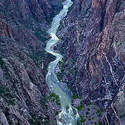Black Canyon of the Gunnison National Park, river