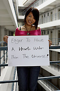 Jasmine Li - 20 Yrs.<br /> Student of communication.<br /> Guangdong Province.<br /> <br /> 'Eager to have a heart wider than the universe'.