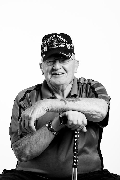 Dale Prescott<br /> Navy<br /> E-6<br /> boatswainmate<br /> 1962 - 1971<br /> Vietnam<br /> <br /> Veterans Portrait Project<br /> Colorado Springs, CO San Antonio, Texas