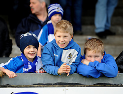 Bristol Rovers fans - Mandatory byline: Neil Brookman/JMP - 23/01/2016 - FOOTBALL - Memorial Stadium - Bristol, England - Bristol Rovers v Plymouth Argyle - Sky Bet League Two