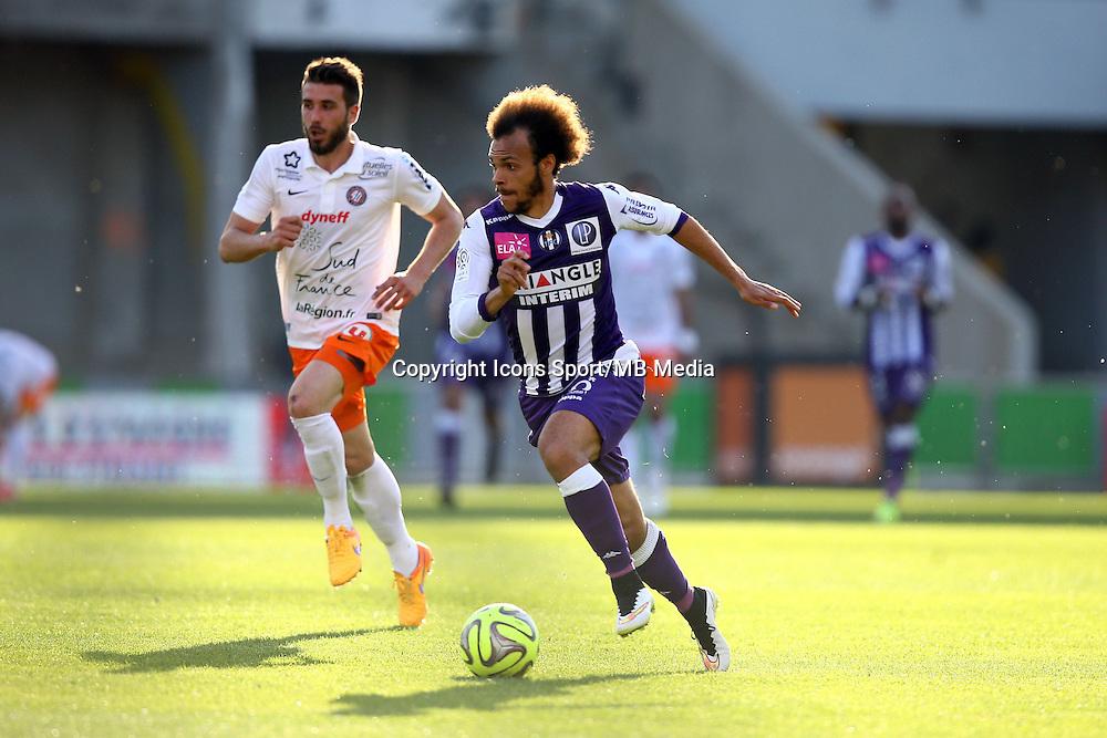 Martin Braithwaite - 12.04.2015 - Toulouse / Montpellier - 32eme journee de Ligue 1 <br />Photo : Manuel Blondeau / Icon Sport