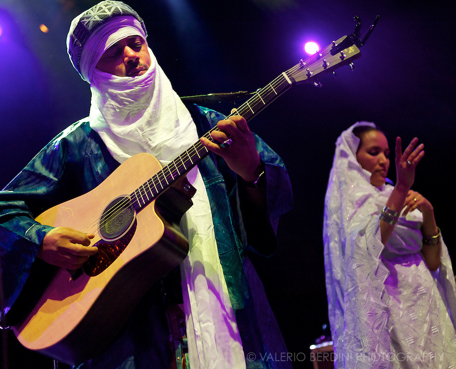 Tinariwen live at London O2 Shepherds Bush Empire 3 May 2012