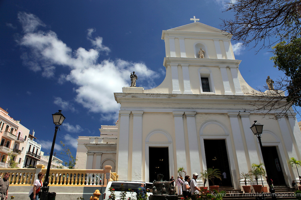 USA, Puerto Rico, San Juan. Cathedral of San Juan Bautista, San Juan, Puerto Rico.