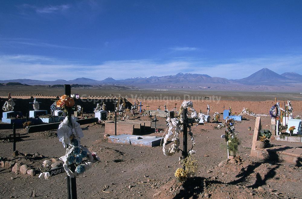 CIMETIERE DE SAN PEDRO, DESERT DE L'ATACAMA, CHILI