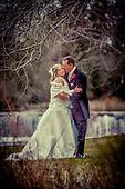Sheila & Tim's spring wedding day