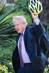 Downing Street, London, May 17th 2016. Mayor of London and Cabinet member Boris Johnson arrives at the weekly cabinet meeting in Downing Street.