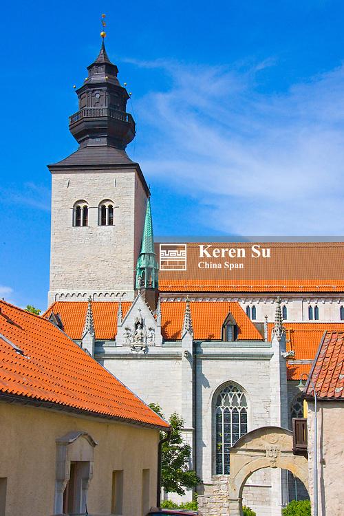 St Maria's Church, Visby, Gotland Island, Sweden
