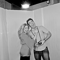 Spanish photographer KIKE CALVO with Carolyne Schmitt, from C4