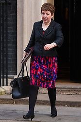London, March 3rd 2015. Members of the cabinet arrive at 10 Downing Street for their weekly meeting. PICTURED: Baroness Stowell,Leader of the House of Lords