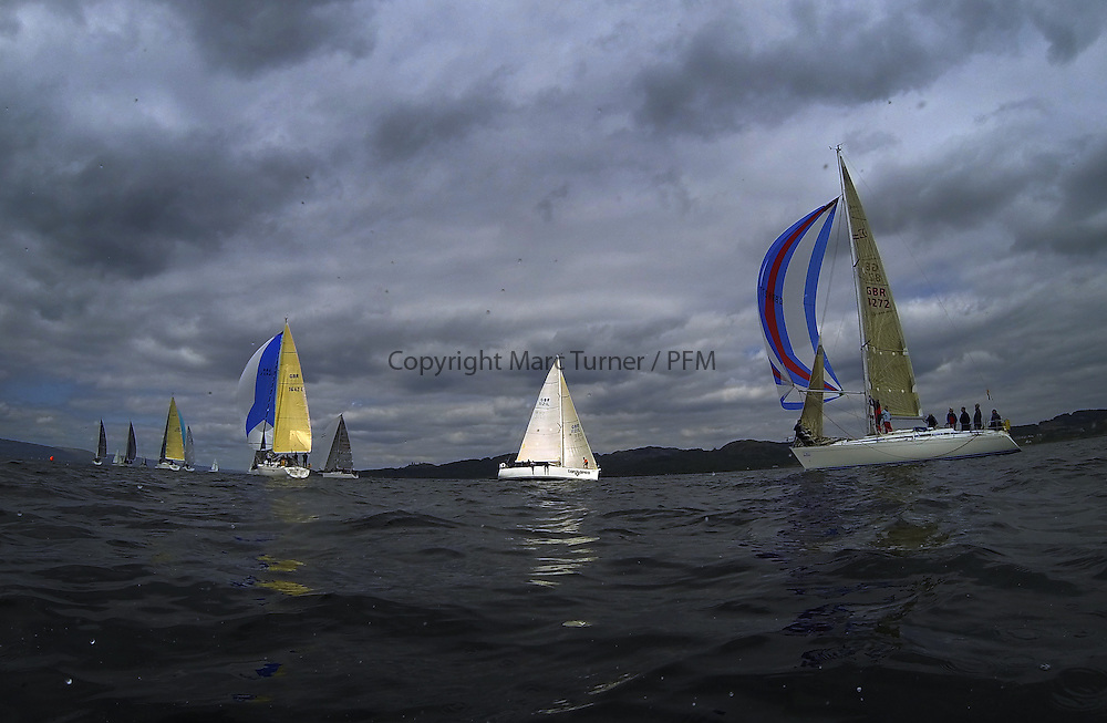 Day two of the Silvers Marine Scottish Series 2016, the largest sailing event in Scotland organised by the  Clyde Cruising Club<br /> Racing on Loch Fyne from 27th-30th May 2016<br /> <br /> GBR1121L, Tangaroa, Eliz &amp; Des Balmforth, CCC, Pronavia 38<br /> <br /> Credit : Marc Turner / CCC<br /> For further information contact<br /> Iain Hurrel<br /> Mobile : 07766 116451<br /> Email : info@marine.blast.com<br /> <br /> For a full list of Silvers Marine Scottish Series sponsors visit http://www.clyde.org/scottish-series/sponsors/