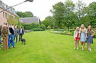 8-7-2016 - WASSENAAR - Queen Maxima and King Willem-Alexander and Princess Amalia and Princess Alexia and Princess Ariane with their dogs Skipper and pose for the annual photosession 2016 at their house De Horsten in Wassenaar near the hague . COPYRIGHT ROBIN UTRECHT <br /> 8/07/2016 - WASSENAAR - Koningin Maxima en Koning Willem-Alexander en Prinses Amalia en Prinses Alexia en Prinses Ariane en honden skipper en poseren voor de jaarlijkse fotosessie 2016 op het landgoed de horsten bij hun woning  in Wassenaar bij Den Haag. COPYRIGHT ROBIN UTRECHT Wassenaar, 8 juli 2016 : Koning Willem-Alexander en Koningin M&aacute;xima met hun dochters de Prinsessen Catharina-Amalia, Alexia en Ariane en de honden Skipper en Nala hond