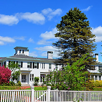 The Blaine House is Governor&rsquo;s Manson in Augusta, Maine<br /> This National Historic Landmark was built in 1833 for a ship captain named James Hall. But its namesake is James G. Blaine, the home&rsquo;s second owner. His long political career as a Republican began at the Maine House of Representatives, included being a Speaker of the U. S. House and U. S. Senator, the U.S. Secretary of State and twice was a presidential nominee. In 1881, he was walking beside James Garfield when the 20th U.S. President was assassinated. In 1919, The Blaine House was donated to Maine as the governor&rsquo;s mansion.