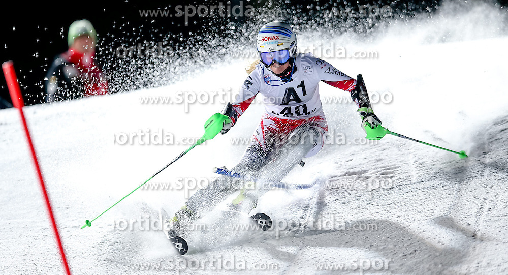 13.01.2015, Hermann Maier Weltcupstrecke, Flachau, AUT, FIS Weltcup Ski Alpin, Flachau, Slalom, Damen, 1. Lauf, im Bild Eva-Maria Brem (AUT) // Eva-Maria Brem of Austria in action during 1st run of the ladie's Slalom of the FIS Ski Alpine World Cup at the Hermann Maier Weltcupstrecke in Flachau, Austria on 2015/01/13. EXPA Pictures © 2015, PhotoCredit: EXPA/ Johann Groder