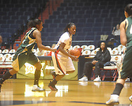 """Ole Miss Latosha Laws (23) at the C.M. """"Tad"""" Smith Coliseum in Oxford, Miss. on Saturday, December 11, 2010."""