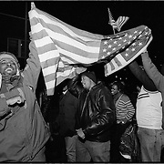 Election Night 2012, U Street, Washington, D.C.