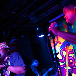 "Washington, DC  - Hip Hop Pantsula, Caralyn Malachi, Wayna, and The ELs join Asheru at Tropicalia for the ""Sleepless in Soweto"" album release party."