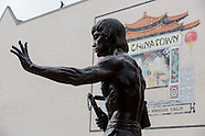 Statue of Bruce Lee unveiled in Los Angeles' Chinatown
