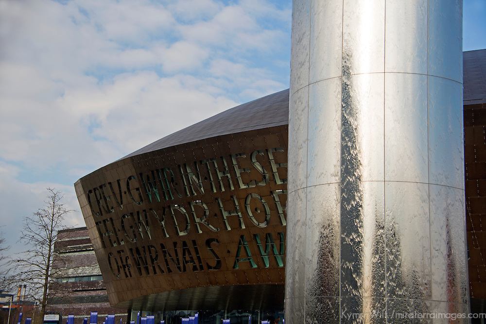 Europe, United Kingdom, Wales, Cardiff. Wales Millenium Center.