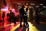 German cowboy couples enjoy a Texas waltz March 17, 2007 in Bindlach, Germany.