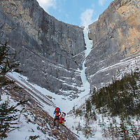Ice Climbing - The Sorcerer - North Ghost