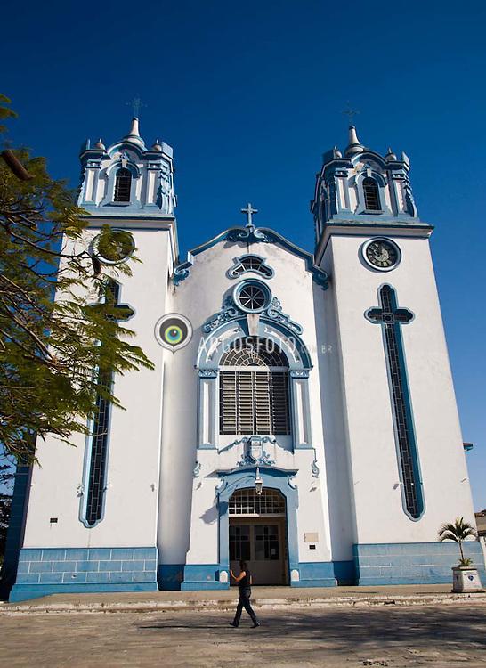 Igreja Matriz da Imaculada Conceicao, em Cruzeiro, cidade do alto Vale do Paraiba / Cruzeiro (Portuguese meaning the Southern Cross) is a city in the state of Sao Paulo in Brazil. The mother church of Cruzeiro.