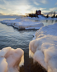 Marquette Harbor Lighthouse<br />