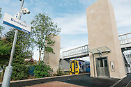 Commercial photography at Dunblane & Haymarket railway stations, Scotland for Stannah Lifts.