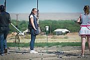mkb052816/metro/Marla Brose/052816<br /> trap shooting<br /> (Marla Brose/Albuquerque Journal)