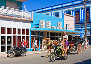 Traffic in Cardenas, Matanzas, Cuba.