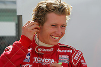Ryan Briscoe at the Homestead-Miami Speedway, Toyota Indy 300, March 6, 2005