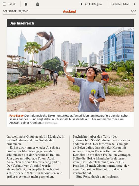 DER SPIEGEL Magazine App edition 32/2015 August 2015