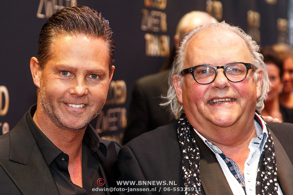 NLD/Amsterdam/20150330 - Premiere Bloed, Zweet en Tranen, Danny de Munk en John van der Ven