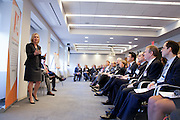 The National Gay Lesbian Chamber of Commerce New York's Legal Industry Council presented a breakfast with Senator Kirsten Gillibrand, Nearly 200 representatives of the city's leading legal corporations and partnerships listened to remarks by Senator Gillibrand followed by a Q&A session. She provided a policy discussion on topics of importance to the LGBT equality movement. The breakfast discussion took place Friday from 8:30 - 10:00am at the law offices of Debevoise & Plimpton LLP.