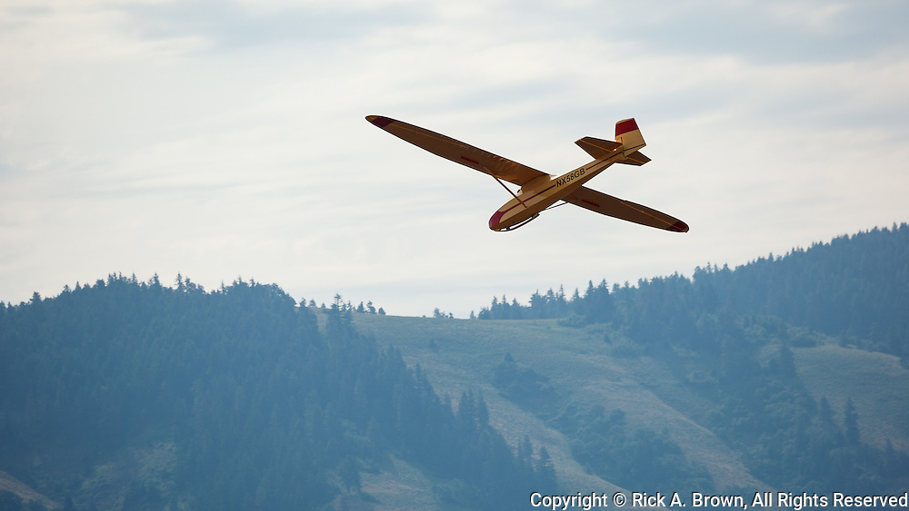 1951 GRUNAU BABY IIB flying at WAAAM.