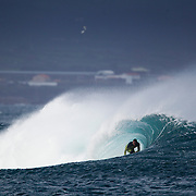Surfing in the Azores for Surfing Magazine and SATA Airlines