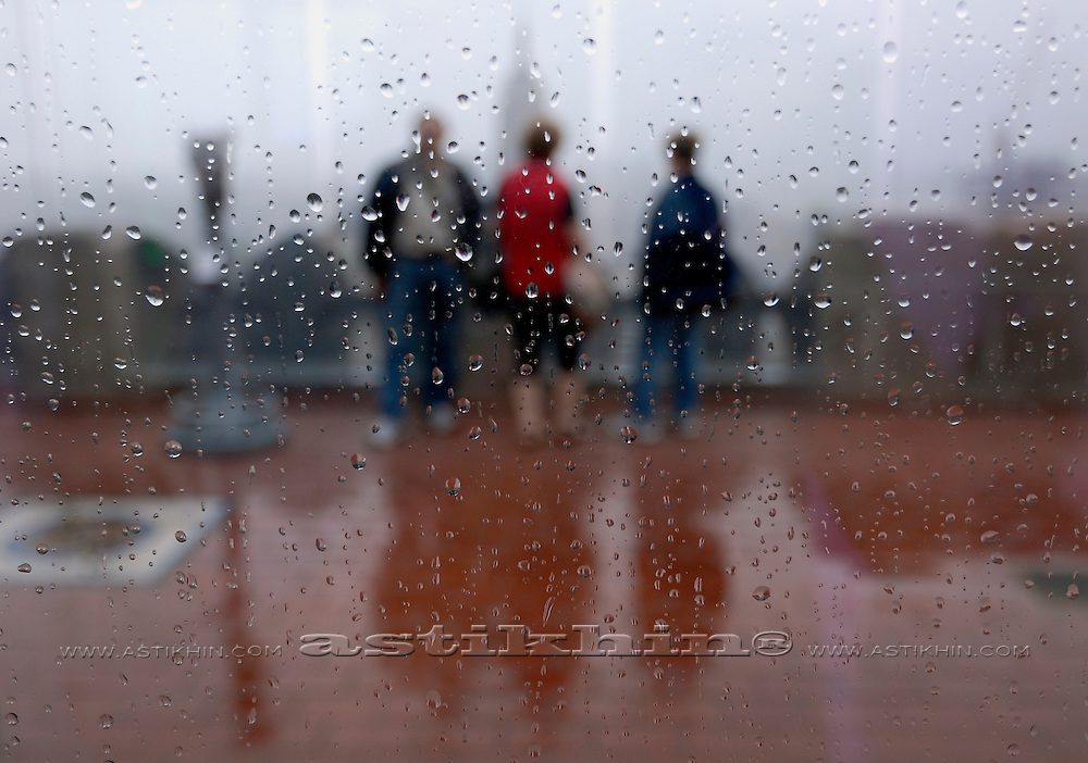 Rain in Manhattan