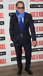 Bruce Payne attends Age of Kill VIP Screening at the Ham Yard Hotel, Soho, London on Wednesday 1 April 2015