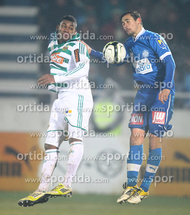 15.12.2012, Wiener Neustadt, Wiener Neustadt, AUT, 1. FBL, SC Wiener Neustadt vs SK Rapid Wien, 20. Runde, im Bild Guimaraes Ferreira Gerson (SK Rapid Wien, #35) und Dario Tadic (SC Wiener Neustadt, #11)  // during Austrian Bundesliga Football Match, 20h round, between SC Wiener Neustadt and SK Rapid Vienna, at the Stadium Wiener Neustadt, Wiener Neustadt, Austria on 2012/12/15. EXPA Pictures © 2012, PhotoCredit: EXPA/ Patrick Leuk.