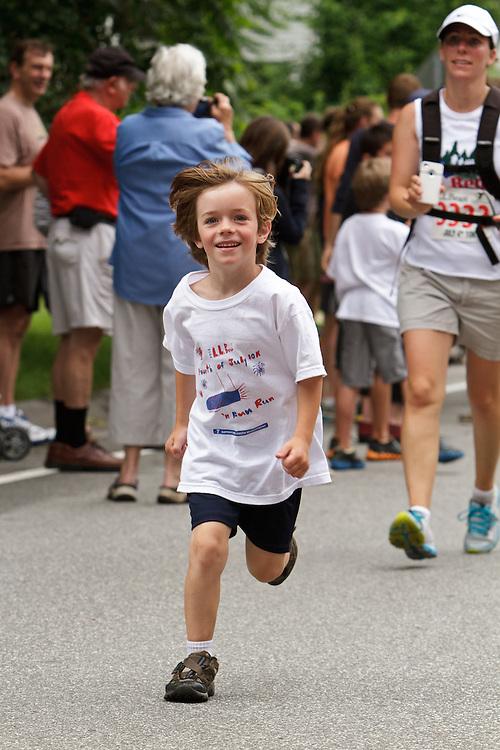 LL Bean 10 road race, kids fun run