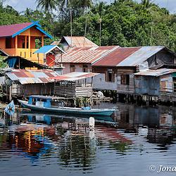 Kahayan River, Palangkaraya, Kalimantan.