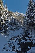 Tatra Mountains National Park in Poland in winter photography by Piotr Gesicki Koscieliska valley