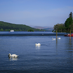 Lake Windermere, Lake District, Cumbria, England