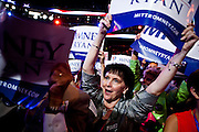 Delegates at the 2012 Republican National Convention in Tampa, Florida, August 30, 2012.