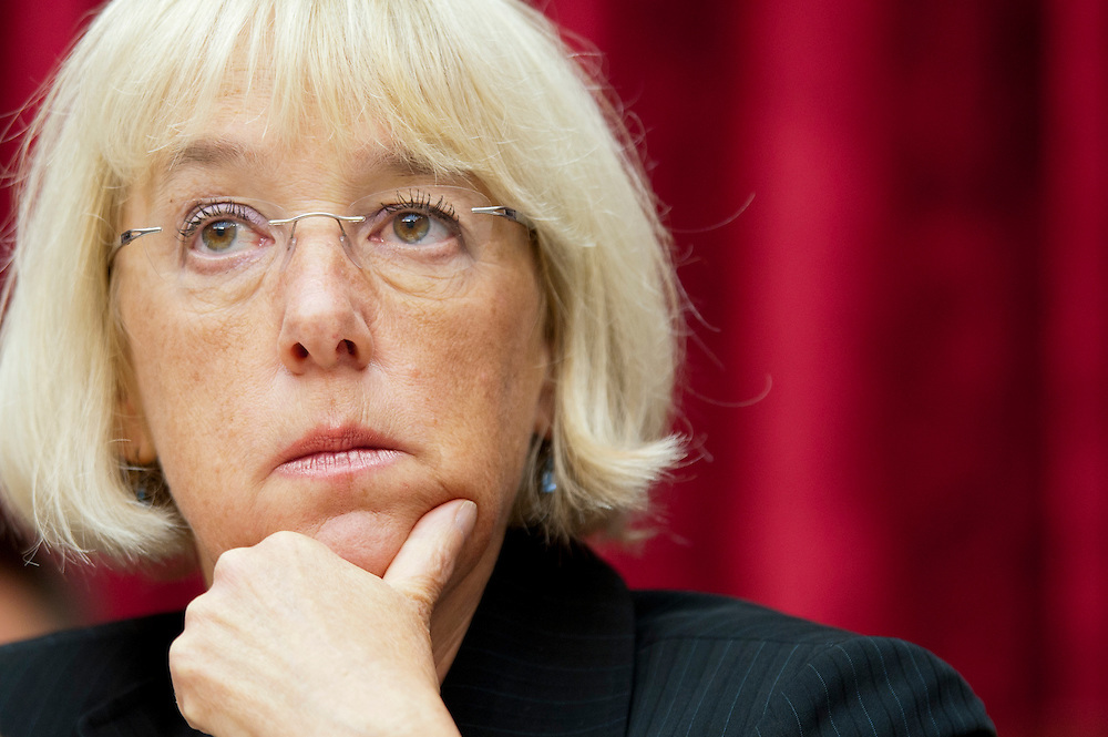 The Joint Deficit Reduction Committee meets on Capitol Hill Thursday to make opening statements and consider proposed committee rules. The committee has a 76-day deadline to come up with a deficit reduction plan totaling $1.5 trillion that can win congressional approval. PICTURED: Co-Chair Senator PATTY MURRAY (D-WA)