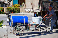 Hand cart in Holguin, Cuba.