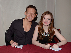 Joe Swash and Maisie Smith attends The London Taxi Drivers' Fund - Mad Hatter's Tea Party at Grosvenor House Hotel, Park Lane, London on Sunday 18 January 2015