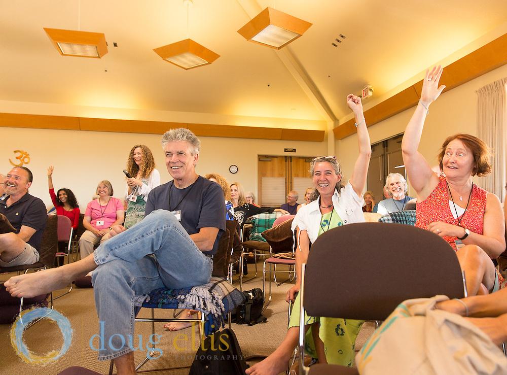 Meditation retreat at Mount Madonna with Craig Hamilton.