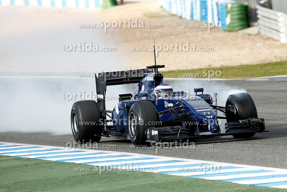 Motorsports: FIA Formula One World Championship 2014, Tests in Jerez de la Frontera, Valtteri Bottas (FIN, Williams F1 Team), *** Local Caption *** © pixathlon